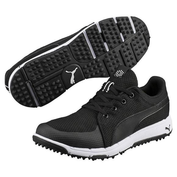 8989d6a5c5e74c Puma Golf Mens Grip Sport Tech Spikeless Golf Shoe